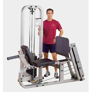 Грузоблочный тренажёр, горизонтальный жим ногами - BODY SOLID PROCLUB SLP-500G, фото 1