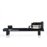 Гребной водный тренажер - WATERROWER M1 510 S4 черный, профессиональный, фото 1