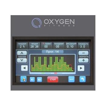 Беговая дорожка OXYGEN PLASMA III LC TFT HRC, фото 7
