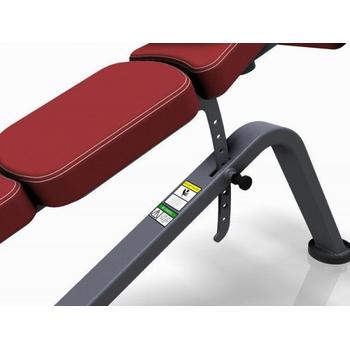 Скамья для жима (с отрицательным наклоном) - Marbo Sport MP-L208, фото 6